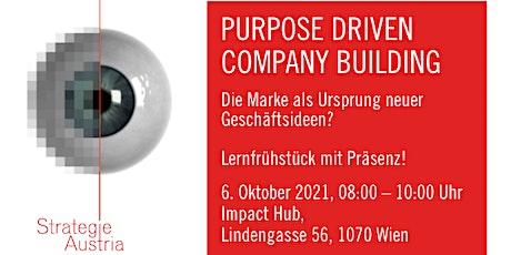 Purpose Driven Company Building Tickets