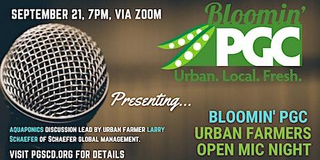Bloomin' PGC Urban Farmers September Open Mic Night tickets