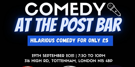 COMEDY AT THE POST BAR tickets