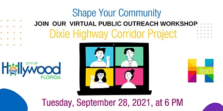 Dixie Highway Corridor Virtual Public Outreach Workshop tickets