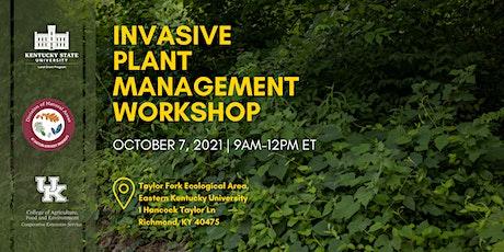 Invasive Plant Management Workshop tickets