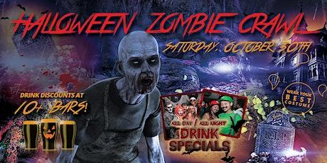 BOSTON ZOMBIE CRAWL - Halloween Pub Crawl - OCT 30th tickets