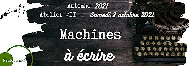 Image de Machines à Écrire - Atelier #2 (Automne 2021)