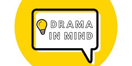 Drama In Mind ZOOM WORKSHOP tickets