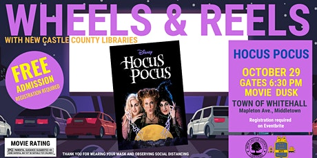 Wheel & Reels: Hocus Pocus The Town of Whitehall tickets