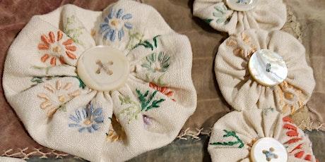 Sewing Workshop - Make Suffolk Puff Textile Jewellery tickets