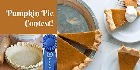 Pumpkin Pie Contest tickets
