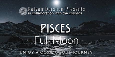 September's Full Blue Moon in Pisces - Online Meditation tickets