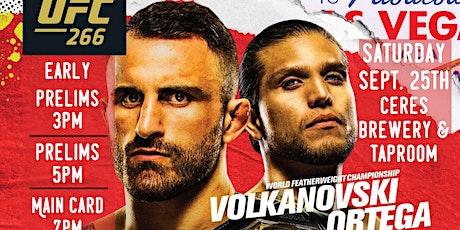 UFC 266 Fight Night tickets