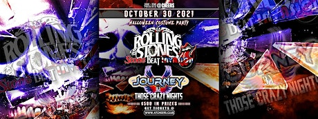 Halloween Costume Party w/ Rolling Stones  & Journey Tribute Bands tickets
