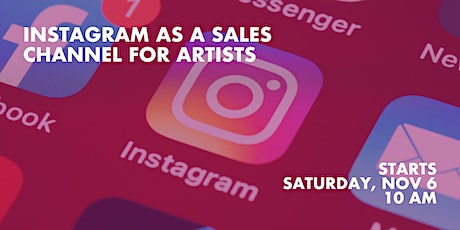 Instagram as a Sales Channel for Artists tickets