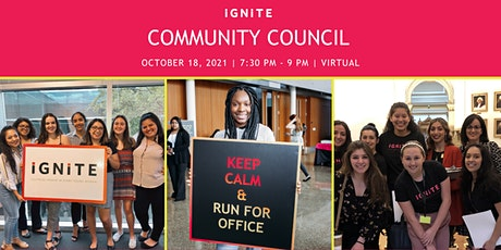 Community Council Informational tickets