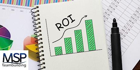 Comment mesurer le ROI de votre événement de team building billets