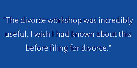Tues - Second Saturday Divorce Workshop- Twin Cities, MN tickets