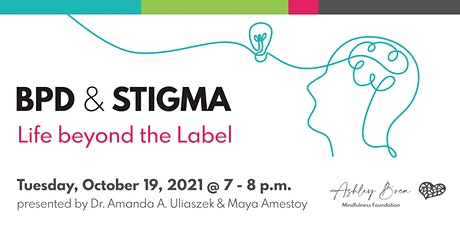 BPD and Stigma: Life beyond the Label tickets