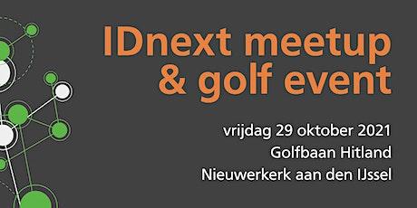 IDnext meetup - Golf 2021 tickets