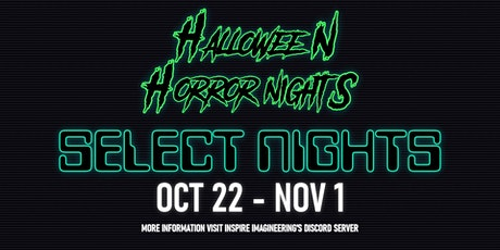 *HHN 2021 Opening Day Reservation* tickets