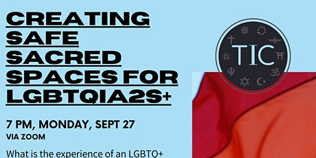 Creating Safe Sacred Spaces for LGBTQIA2S+ tickets