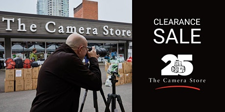 Clearance & 25th Anniversary Sale tickets