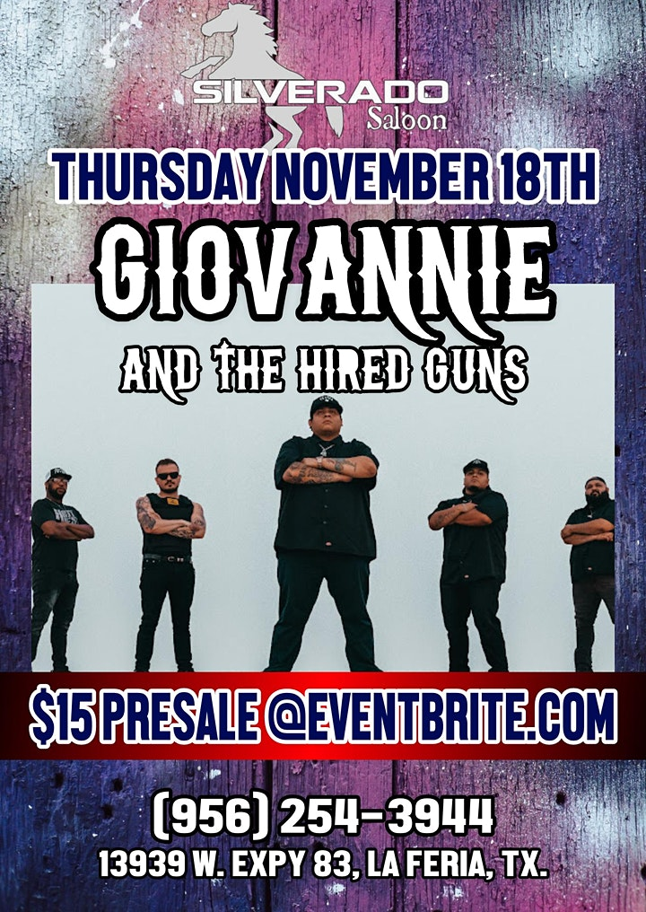 GIOVANNIE AND THE HIRED GUNS image
