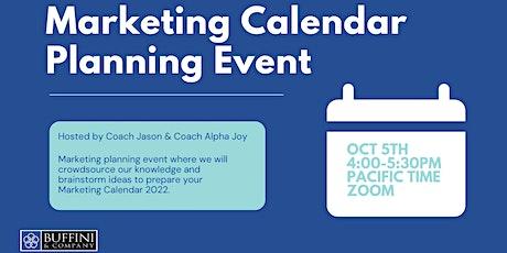 2022 Marketing Planning Event tickets