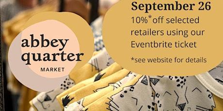 Abbey Quarter Market tickets