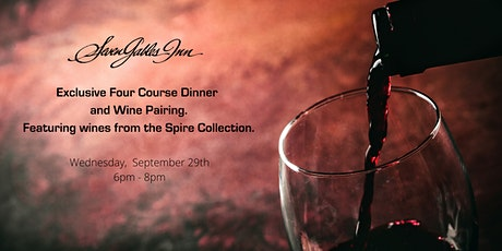 Exclusive Four Course Dinner and Wine Pairing tickets