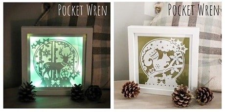 Light Up Papercut Snow Globe Frame - Paper Cutting Workshop (afternoon) tickets