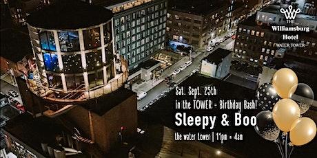 Sleepy & Boo - Birthday Bash - In the Water Tower tickets
