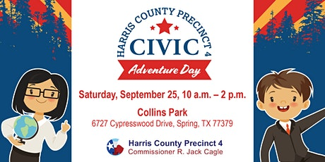 Harris County Precinct 4's Civic Adventure Day tickets