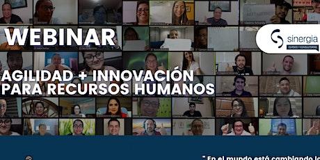 Webinar Agilidad e Innovación para Recursos Humanos entradas