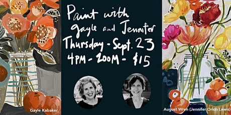 Paint with Jennifer and Gayle! tickets