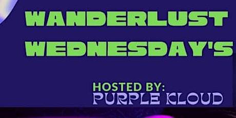 Wanderlust Wednesday's tickets