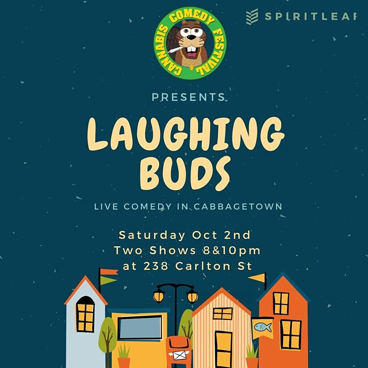 Cannabis Comedy Festival Presents: Laughing Buds in Cabbagetown image