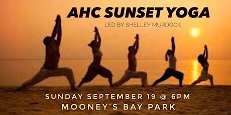 AHC Sunset Yoga tickets