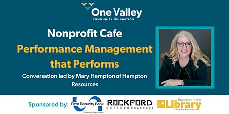 Nonprofit Cafe// Performance Management that Performs tickets