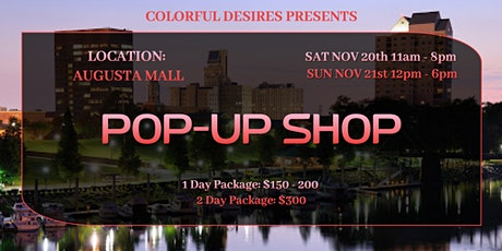 Augusta Mall Pop-Up Shop tickets