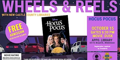 Wheels & Reels: Hocus Pocus tickets