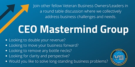 VEI CEO Mastermind Group - October 2021 tickets