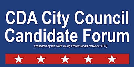 Coeur d'Alene City Candidate Forum tickets