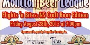 Flights 'n Bites: NS Craft Beer Edition