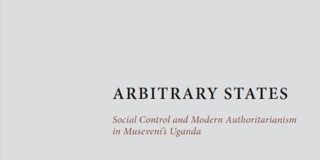 Digital Book Launch for Rebecca Tapscott's Arbitrary States tickets