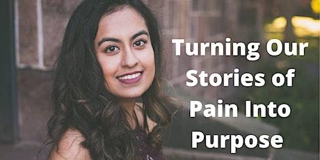 Sponsor Mindset Masterclass / Transforming stories of pain into purpose tickets