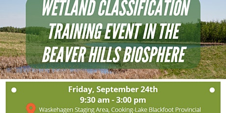 Alberta Wetland Classification System Field Guide - Field Training tickets