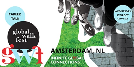 Global Walk Fest — Amsterdam, NL  —  Career Talk With Isrid van Geuns tickets