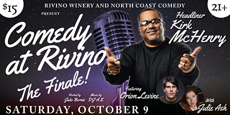 Comedy at Rivino! The season finale! tickets