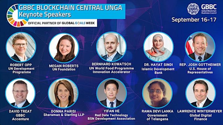GBBC's Blockchain Central UNGA 2021 - Live Stream image