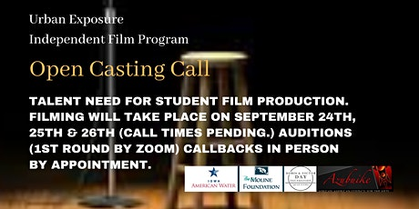 Open Casting Call for Urban Exposure Independent Film Project tickets