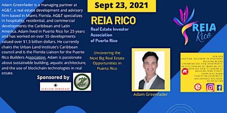 "VIRTUAL  Real Estate Investors Association of Puerto Rico - ""REIA Rico"" tickets"