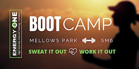 BOOT CAMP AT MELLOWS PARK - Saturday tickets